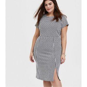 Torrid Gingham Shift Dress